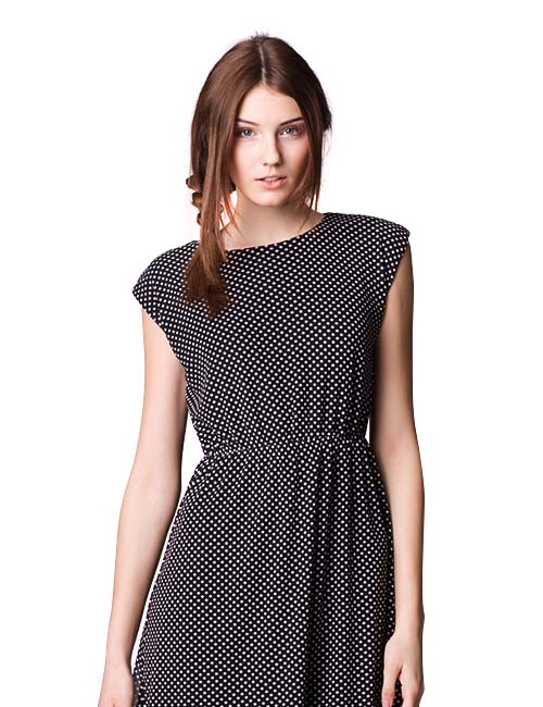 dot_fit_and_flare_dress